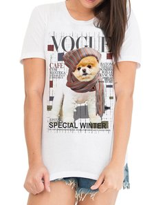 Tshirt Vogue Winter DOG