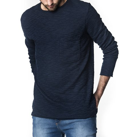 SWEATER DELFÍN AZUL