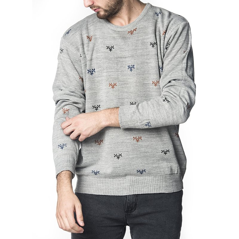 SWEATER ARTIGAS GRIS