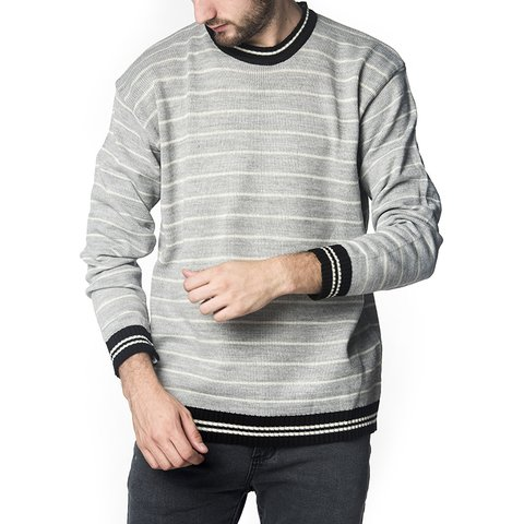 SWEATER LUIS GRIS