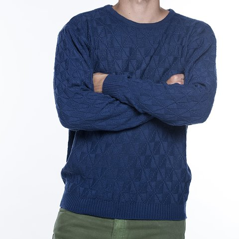 Sweater Kanguro Azul