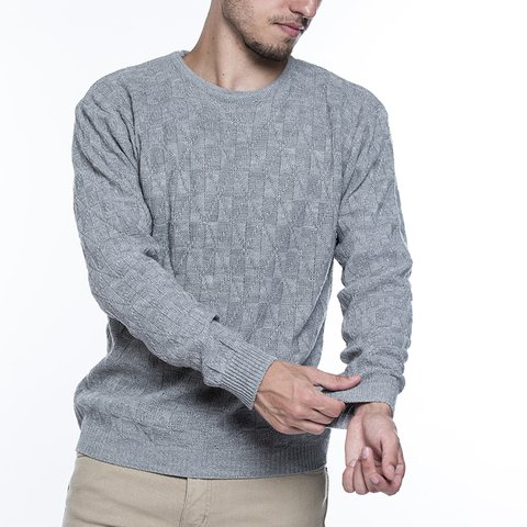 Sweater Kanguro Gris