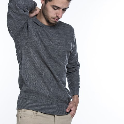 Sweater Carnero Gris