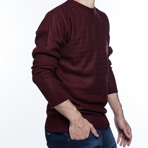 Sweater Carnero Bordó - comprar online