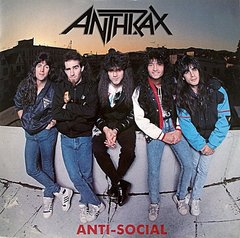 Anthrax -   Anti - Social LP