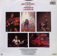 Anthrax -   Anti - Social LP - comprar online
