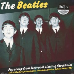 Beatles - Pop Group From Liverpool Visiting Stockholm LP