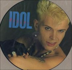 Billy Idol -   Rebel Yell LP (Picture)