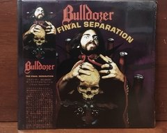 Bulldozer - The Final Separation LP Splatter C/ OBI