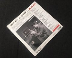 Chet Baker Quartet - In Paris LP - comprar online
