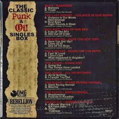 Various -  The Classic Punk & Oi! Singles Box - comprar online