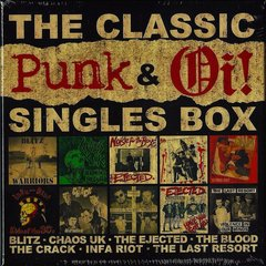 Various -  The Classic Punk & Oi! Singles Box