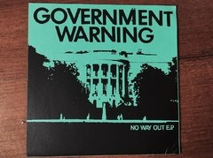 Government Warning -  No Way Out EP - comprar online