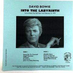 David Bowie -   Into The Labyrinth LP
