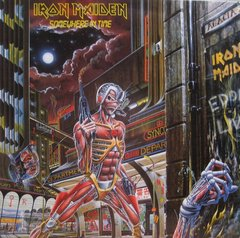Iron Maiden -  Somewhere In Time LP