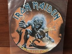 Iron Maiden - A Real LIVE One LP PICTURE na internet