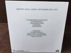 Joy Division - Queens Hall, Leeds, September 8th 1979 LP na internet