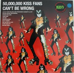Kiss - 50,000,000 Kiss Fans Can´t Be Wrong LP + Pôster