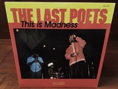 The Last Poets -  This Is Madness LP na internet