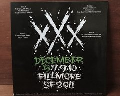 Metallica - Fillmore San Francisco - December 5, 2011 - Day 1 2xLP na internet
