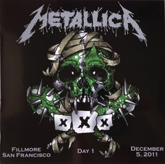 Metallica - Fillmore San Francisco - December 5, 2011 - Day 1 2xLP