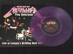 Metallica - Live At Lemmy's Birthday Bash 1995 LP na internet