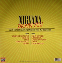 Nirvana -   Drain You LP - comprar online