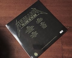 Metallica -   To Live Is To Die: Live at the Market Square Arena 2xLP - comprar online