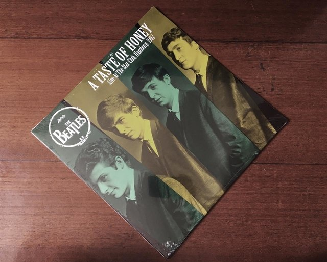 The Beatles - A Taste Of Honey - Live At The Star Club, Hamburg 1962 LP