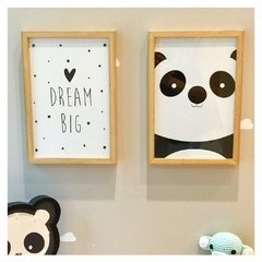 Set Cuadrito Infantil - Set Big Dream + Oso