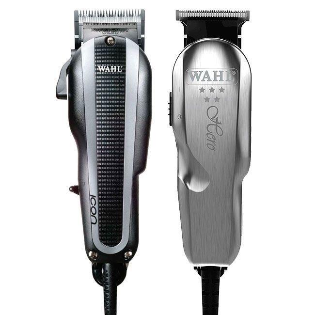 fac0aec6e COMBO MAQUINA WAHL ICON V9000 (110v)+ WAHL HERO Bivolt