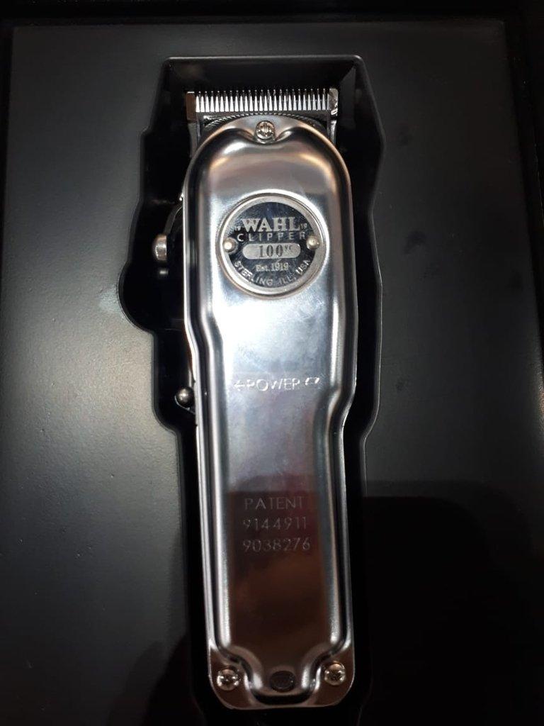 abf81c4d1 Maquina de corte Wahl Clipper - Edição Limitada 100 anos. 8% OFF. 1