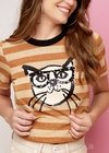 T-shirt Sunglass Cat