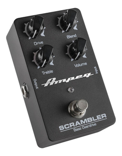 Pedal Overdrive Ampeg Scrambler Overdrive Cuotas Sin Interes