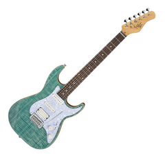 Guitarra Stratocaster Michael Kelly 1963 Blue Jean