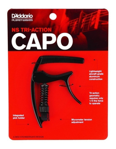 Capo Triple Accion Planet Waves Daddario Pw-cp-9 - SOUNDTRADE