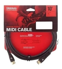 Cable Midi Conectores Dorados Planet Waves 3 Metros - SOUNDTRADE
