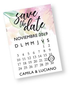 IMÁN SAVE THE DATE  (X 25 UNIDADES) en internet
