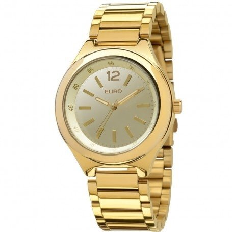 e7748617d Relógio Euro Feminino Dourado - Yvette SemiJoias