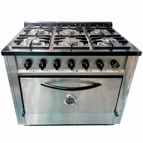 Cocina industrial depaolo 6 hornallas campana nihuil 90cm - Campana cocina industrial ...