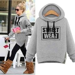 Casaco  Warm Letters Pullover Street Wear na internet