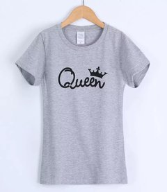 Camiseta feminina Queen on internet