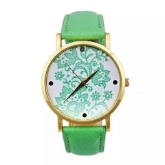 relogio-feminino-faux-leather-quartz-cor-verde-claro