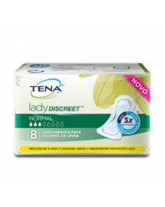 TENA ABS LADY DISCREET NORMAL C/8
