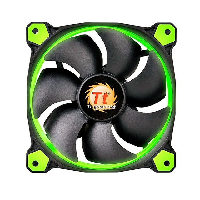 Cooler Thermaltake Riing 14cm FAN Green CL-F039-PL14GR-A