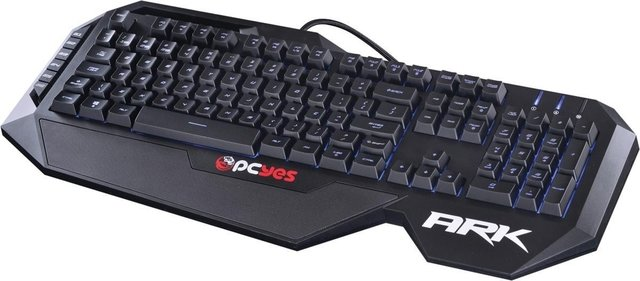 TECLADO GAMER ARK COM 7 CORES LED