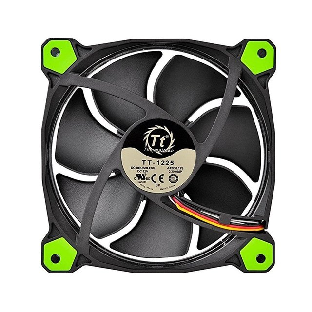 Cooler Thermaltake Riing 14cm FAN Green CL-F039-PL14GR-A na internet