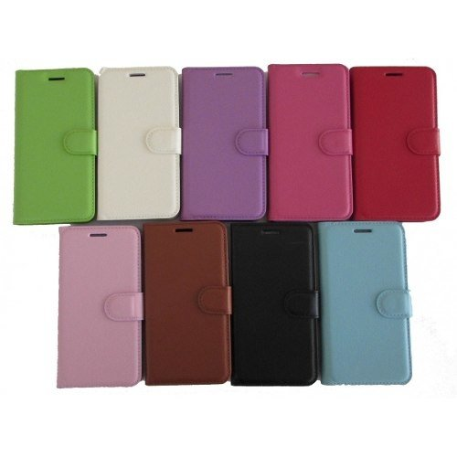 Litch Grain Leather Case Capa Para Iphone 6