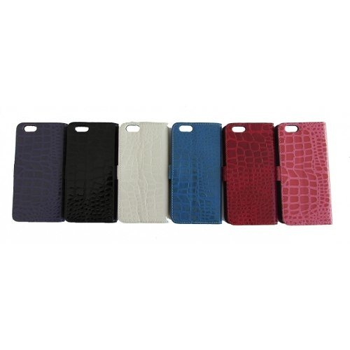 Alligator Pattern Leather Case Para Iphone 6