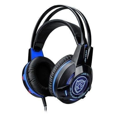 Headset Gamer 7.1 Usb Com Led